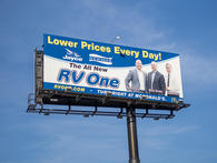 RV One Superstores Tampa Billboard