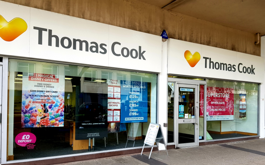 Thomas Cook Travel Store