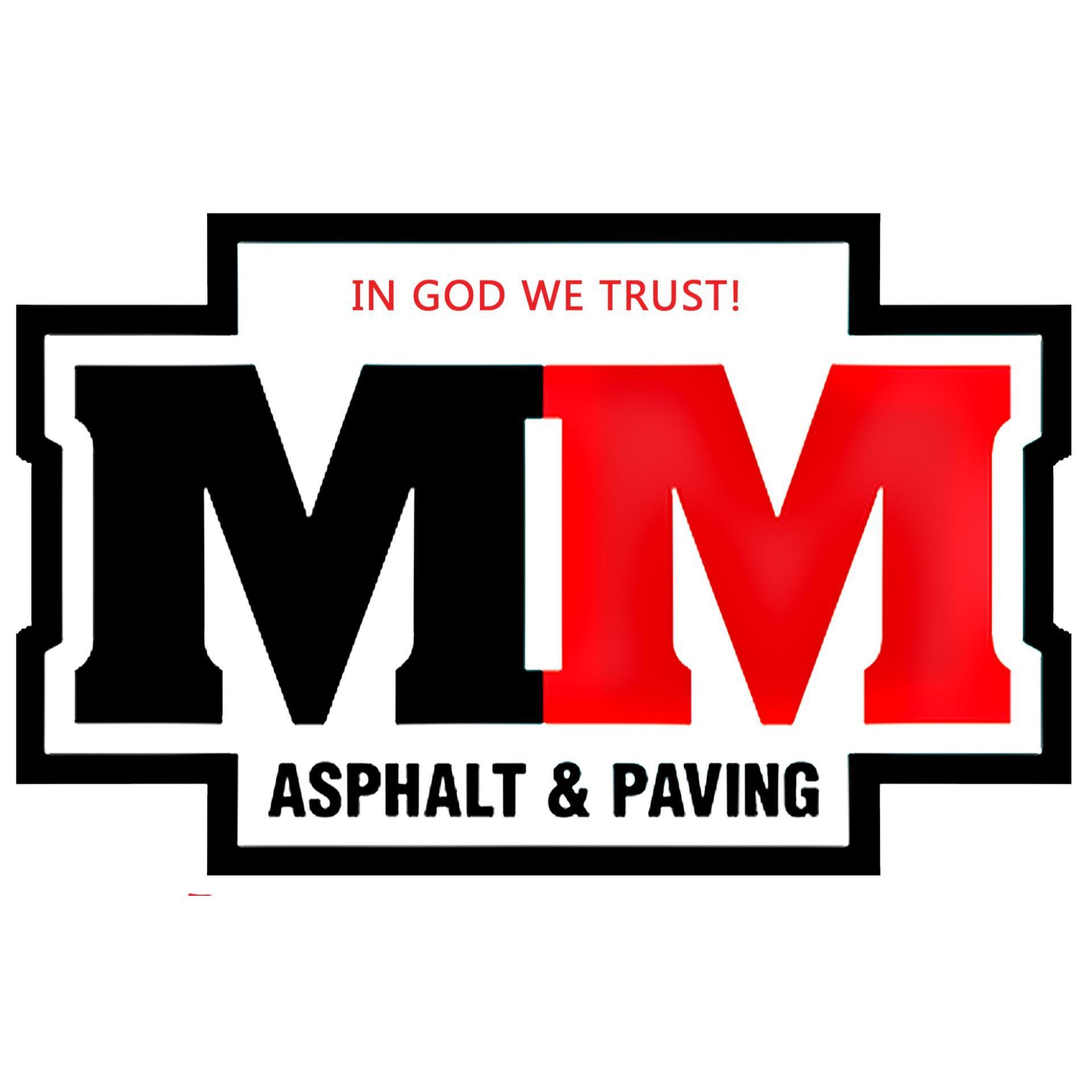 M & M Asphalt Paving Logo