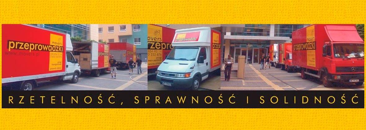 Movers - Przeprowadzki, magazynowanie mebli - Warszawa