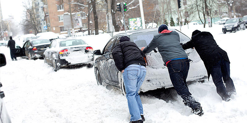 DON'T let this be you! The SNOW is coming soon..........