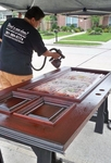 Image 1 | 281 684  617 four-------------       Houston front  door refinishing