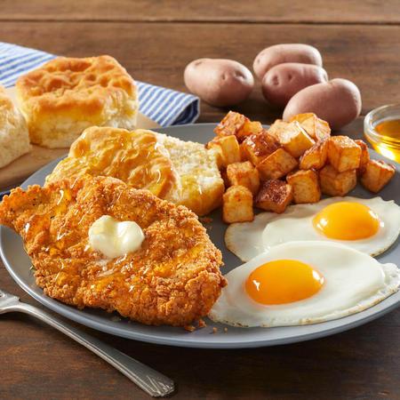 Honey Butter Chicken & Biscuit Breakfast