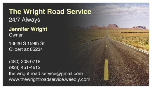 The Wright Road Service
