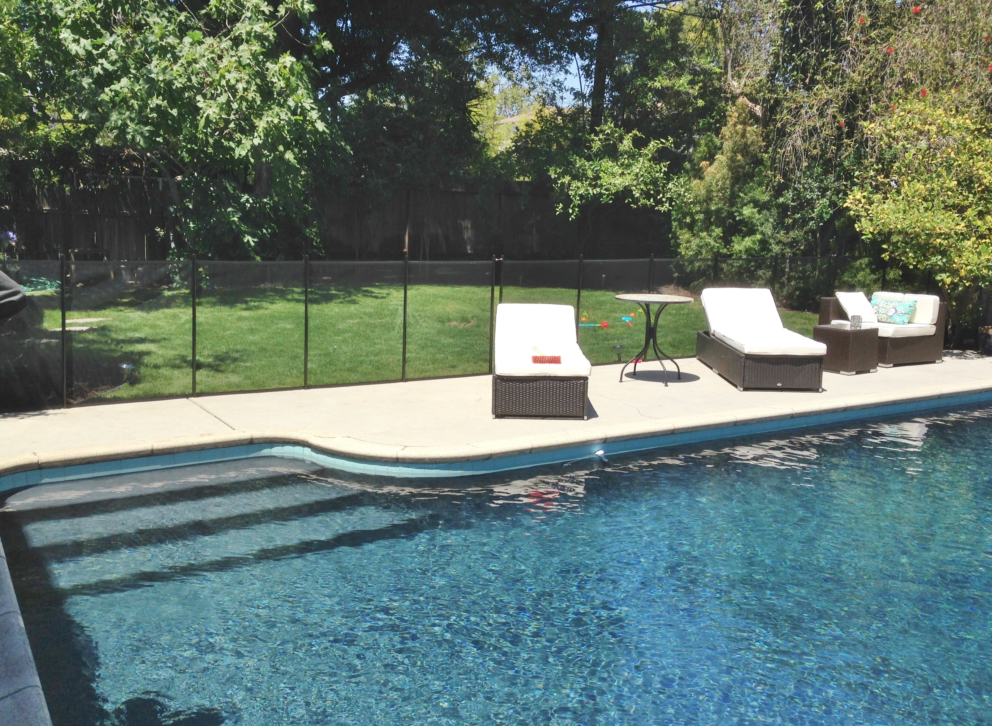 Safeguard Pool Fence Mesh Amp Glass Company Los Angeles