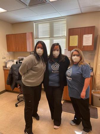 Employees at Aspire Albuquerque