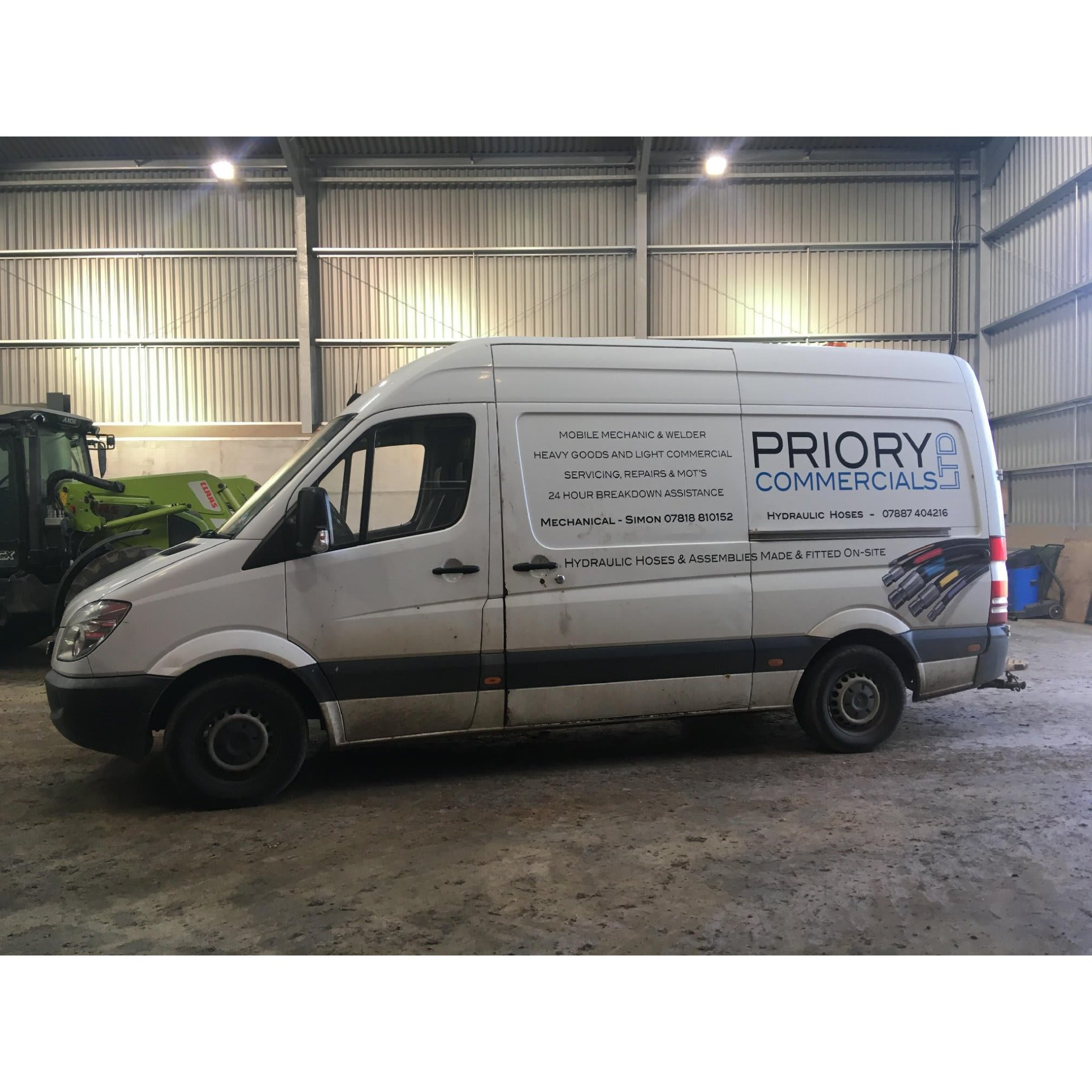 Priory Commercials Ltd - Melton Mowbray, Leicestershire LE14 3YU - 07720 455494 | ShowMeLocal.com