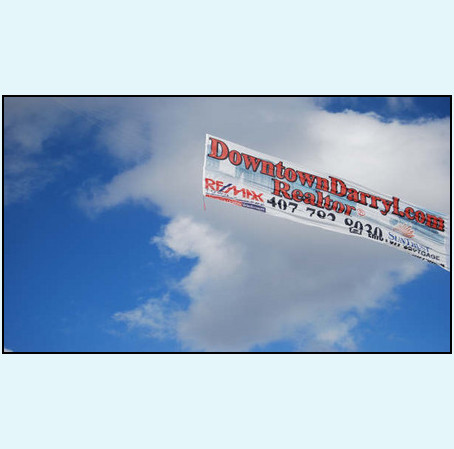 Aerial Banners, Inc. invites you to LOOK UP!
