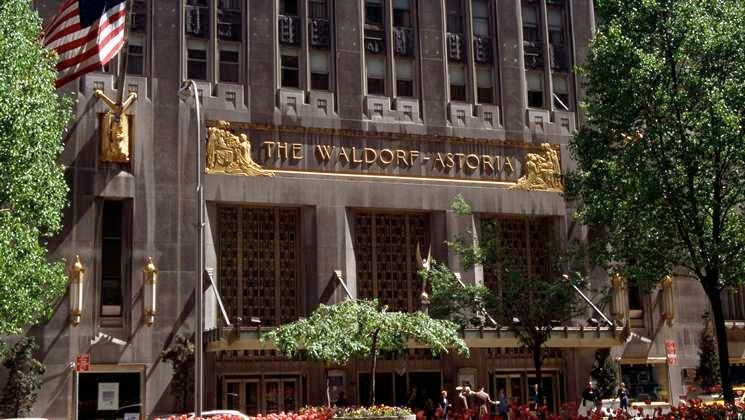 The Waldorf-Astoria is an official New York City landmark since 1993, has been an internationally recognized symbol of elegance.