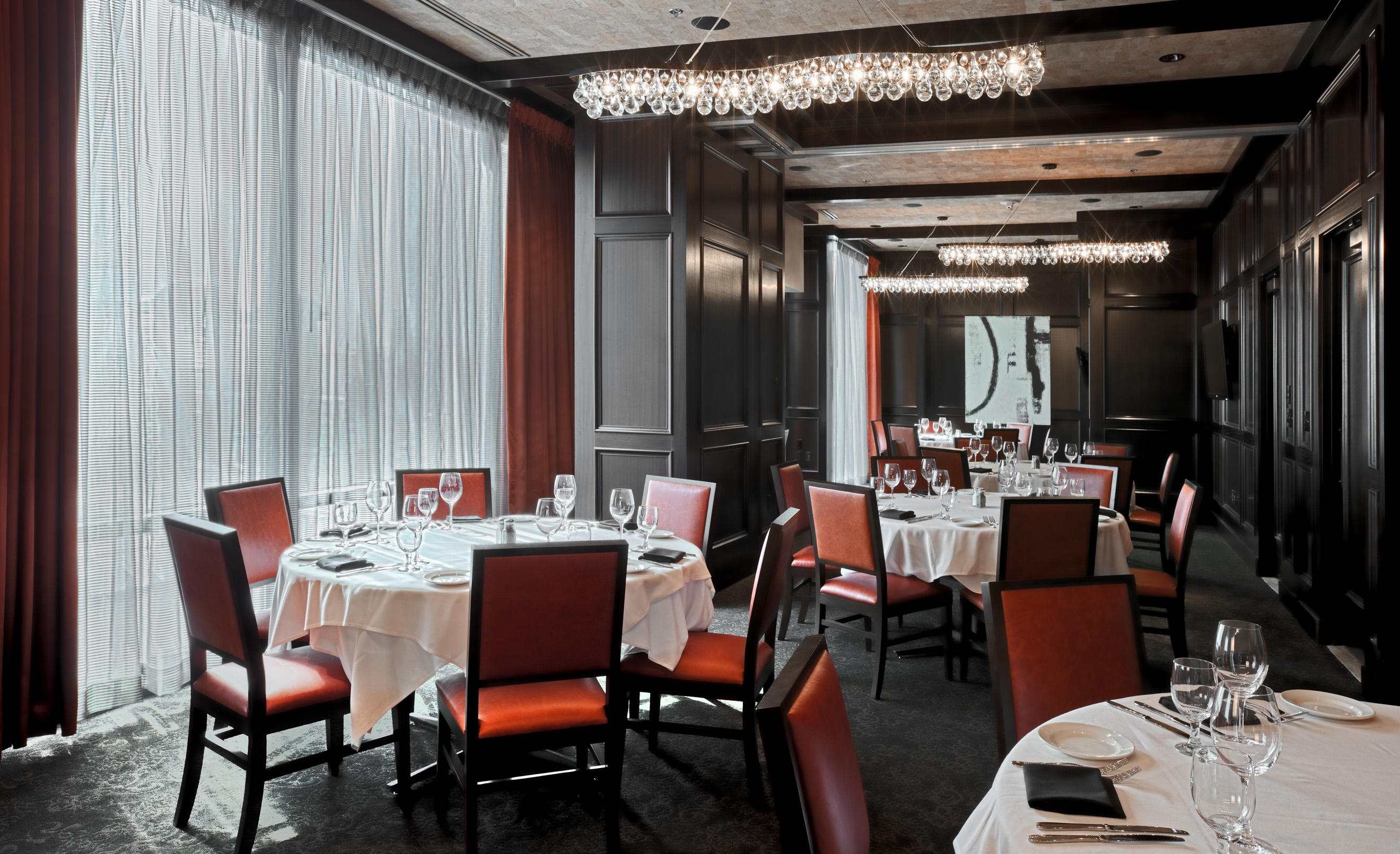 Del Frisco's Double Eagle Steakhouse Boston Doulos Room private dining room