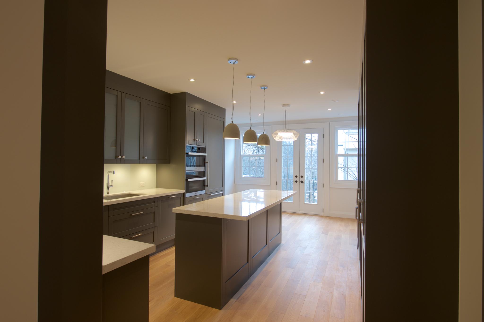 Battiston Construction Co in Toronto: Downtown Duplex