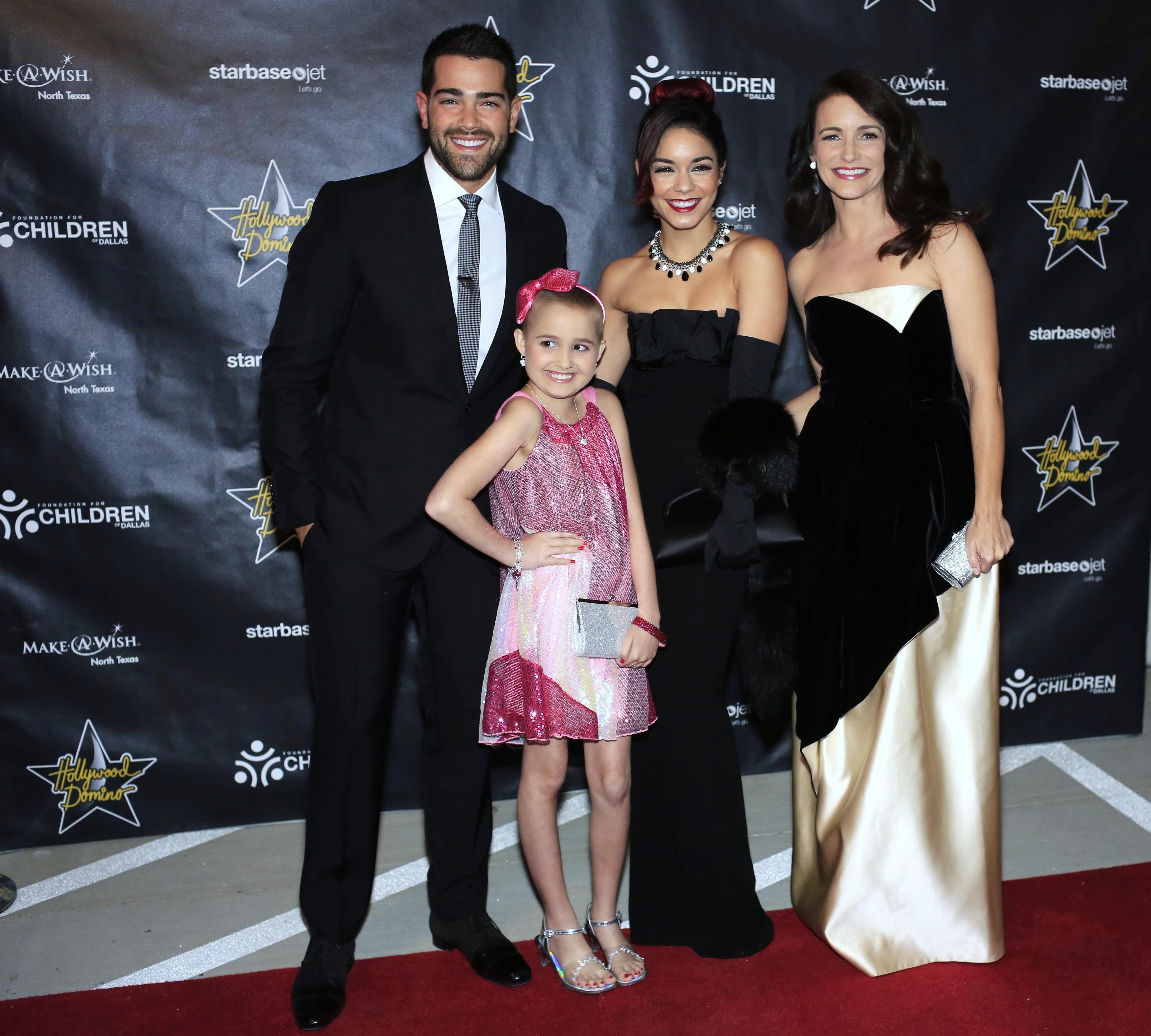 Hollywood Domino Dallas benefiting Make a Wish Foundation North Texas with Vanessa Hudgins, Kristen Davis and Jesse Metcalfe