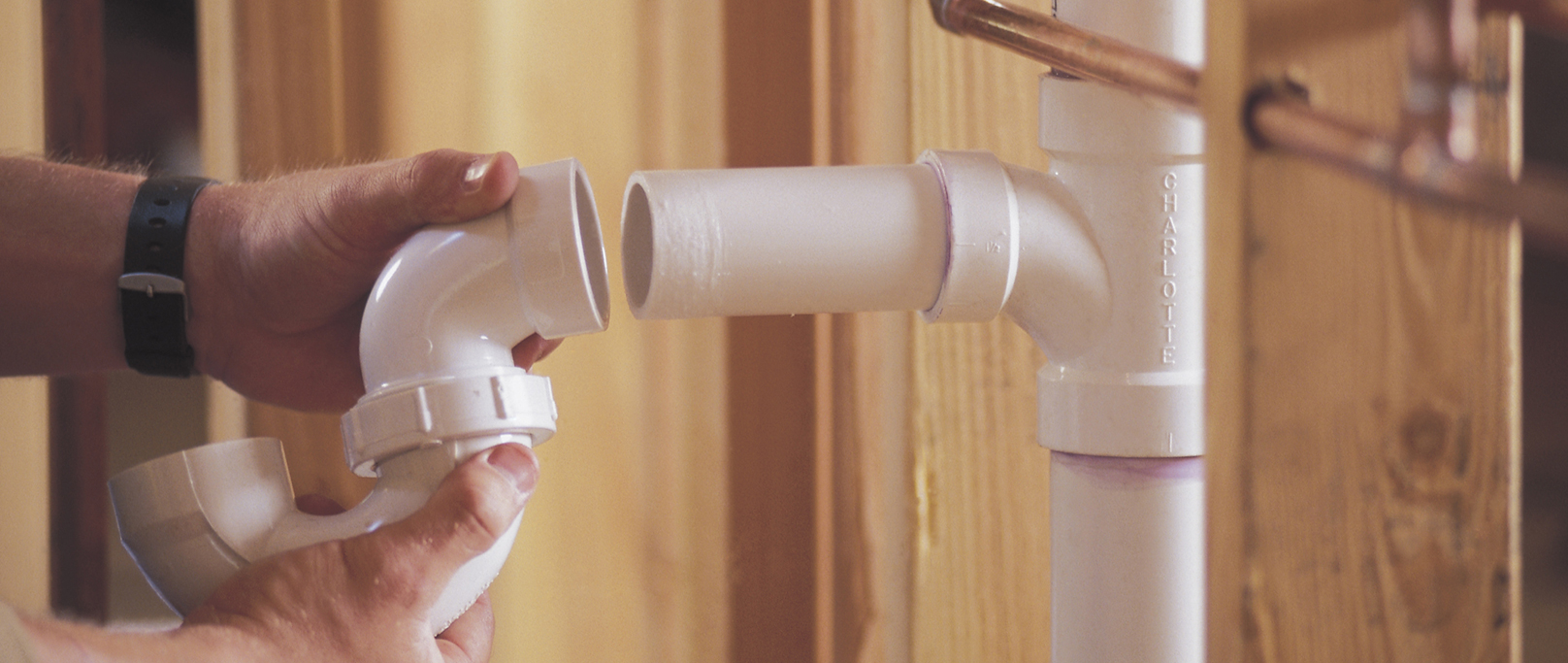 At your service plumbing company denver plumbers in for Copper pipes vs plastic pipes