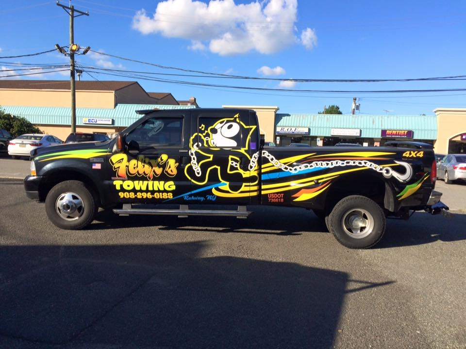 Felix S Towing Amp Flatbed Service In Rahway Nj 07065
