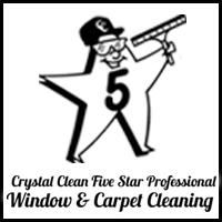 Crystal Clean Five Star Professional Window & Carpet Cleaning