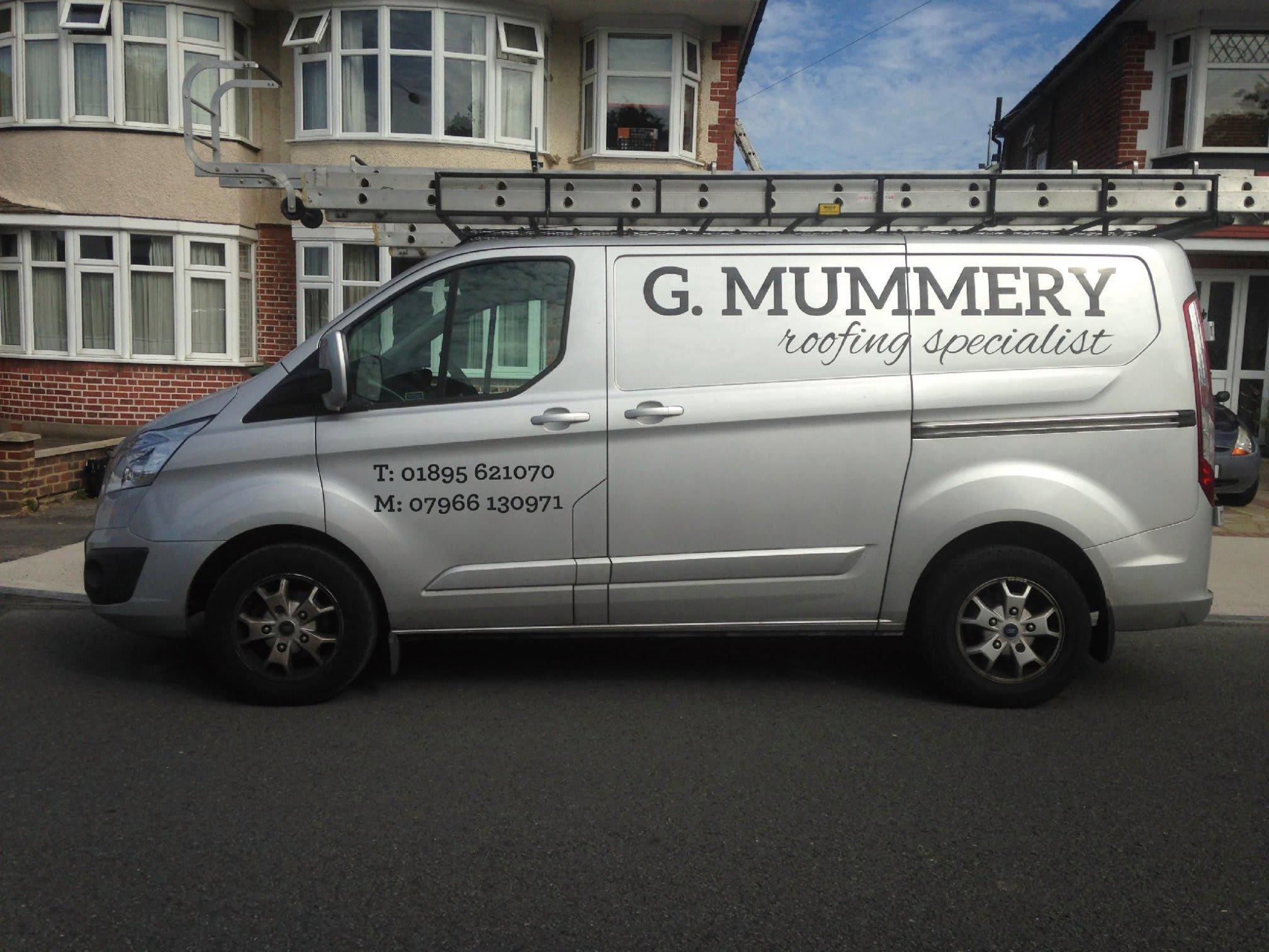 G Mummery Roofing Ltd