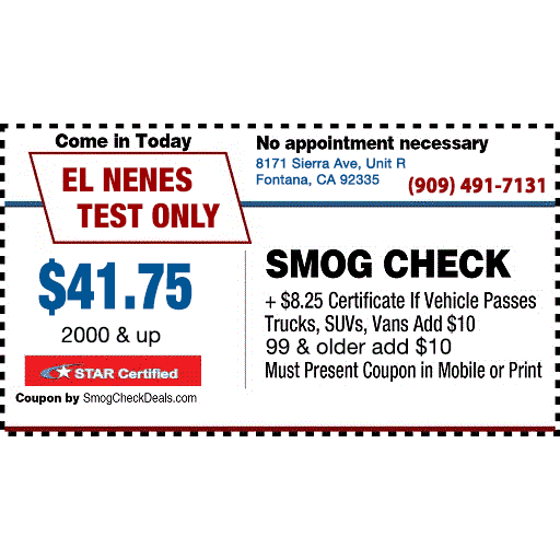 El Nenes Test Only Coupons Near Me In Fontana 8coupons