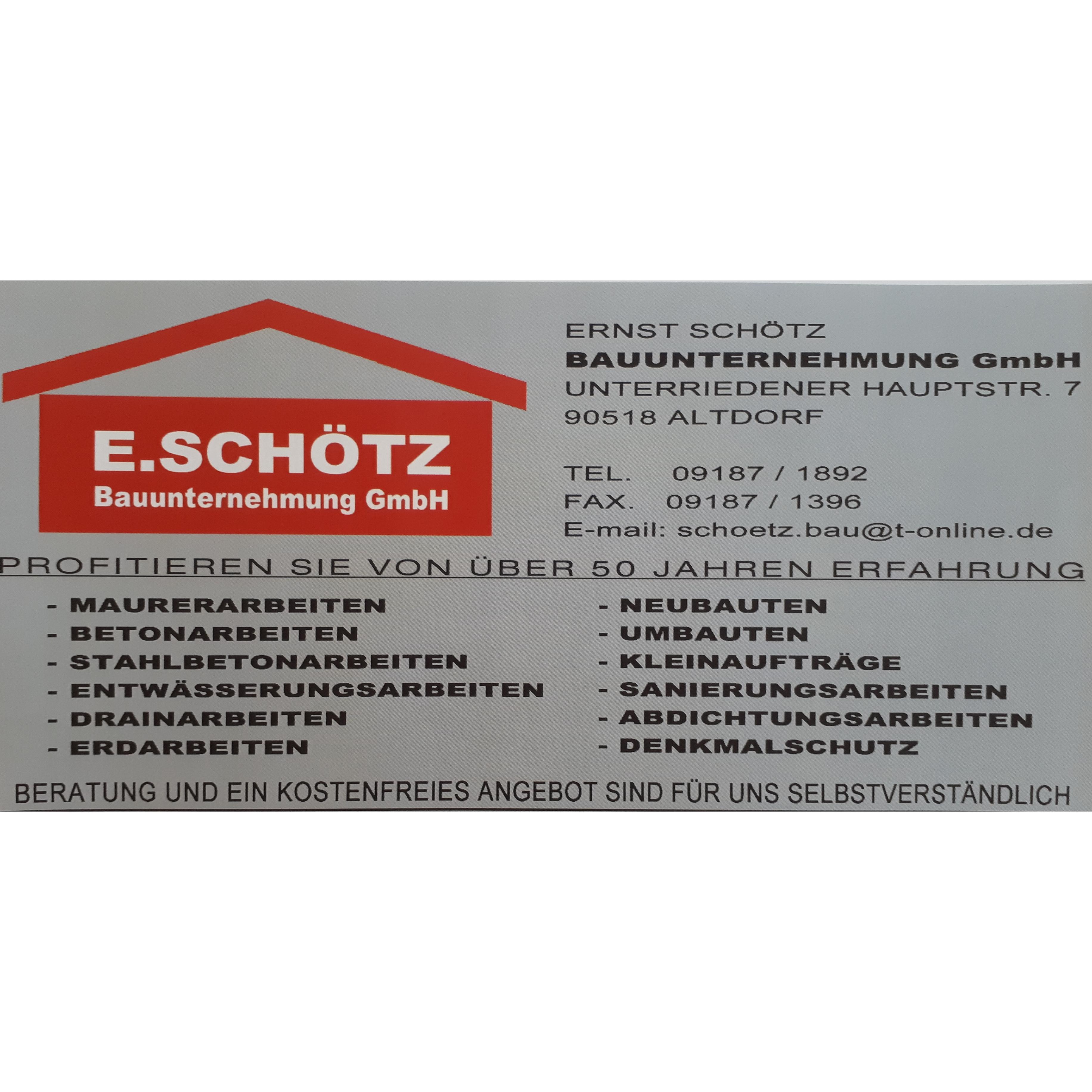 Bild zu Ernst Schötz Bauunternehmung GmbH in Altdorf bei Nürnberg