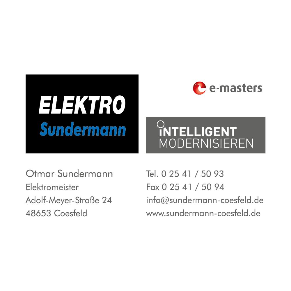 Bild zu Elektro Sundermann GmbH in Coesfeld