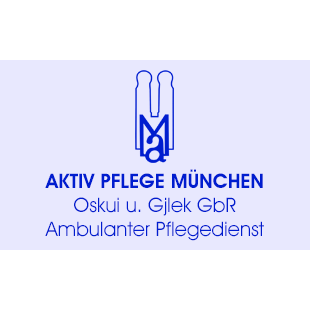 Logo von Aktiv Pflege München Oskui Gjlek GmbH