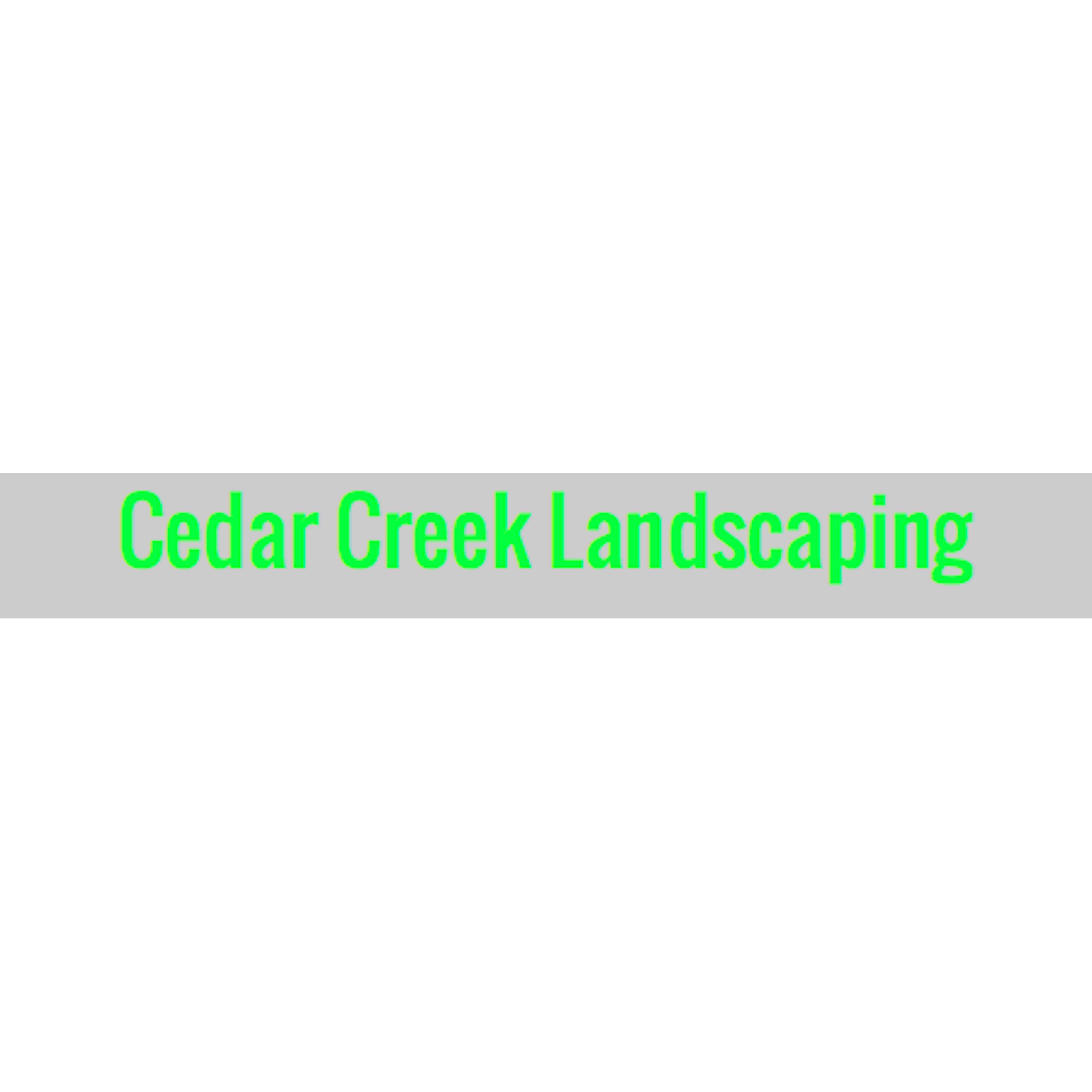 Cedar creek landscaping coupons near me in 8coupons for Local landscapers