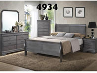 Beautiful solid wood bedrooms made here in our ocean state. Available in grey, black, white, pink, and purple