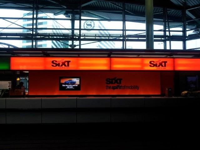 Sixt Autoverhuur Amsterdam Schiphol Luchthaven