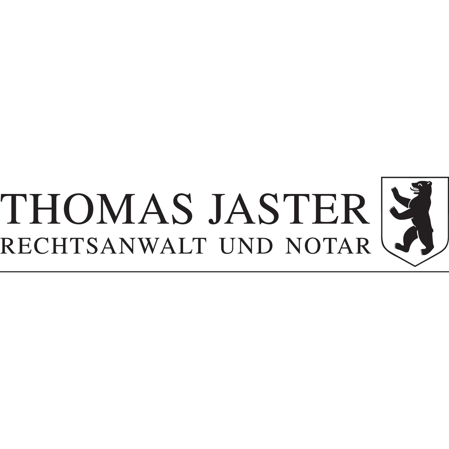 Bild zu Thomas Jaster Rechtsanwalt und Notar in Berlin