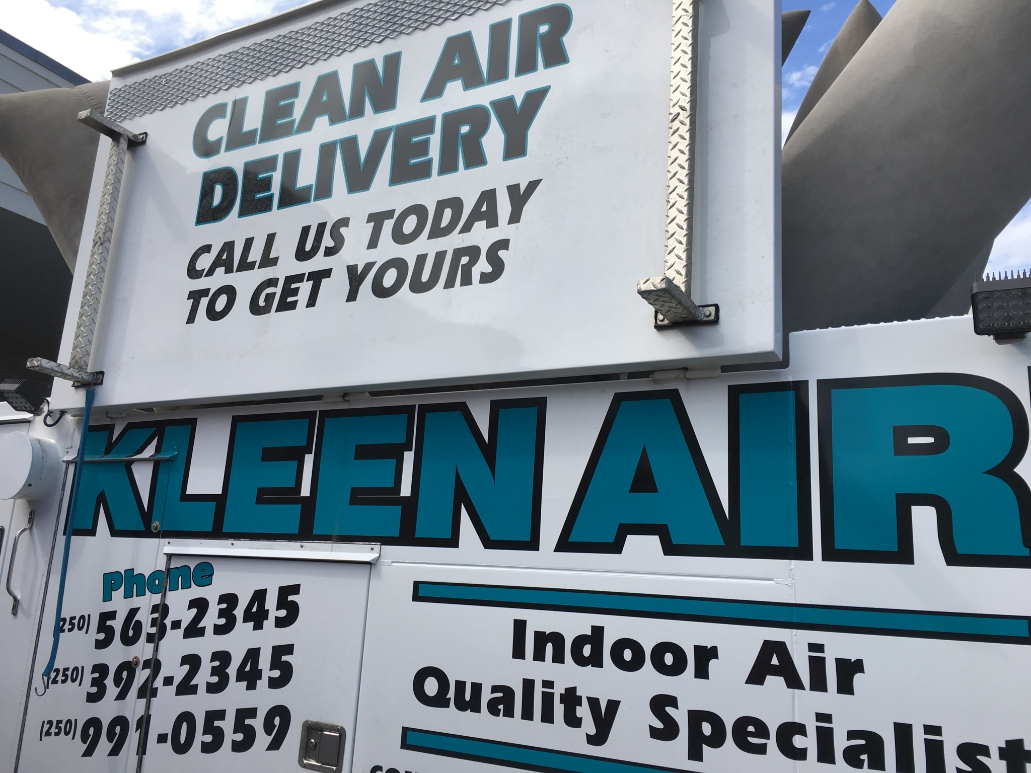 Kleen Aire Services in Williams Lake: Clean Air Delivery