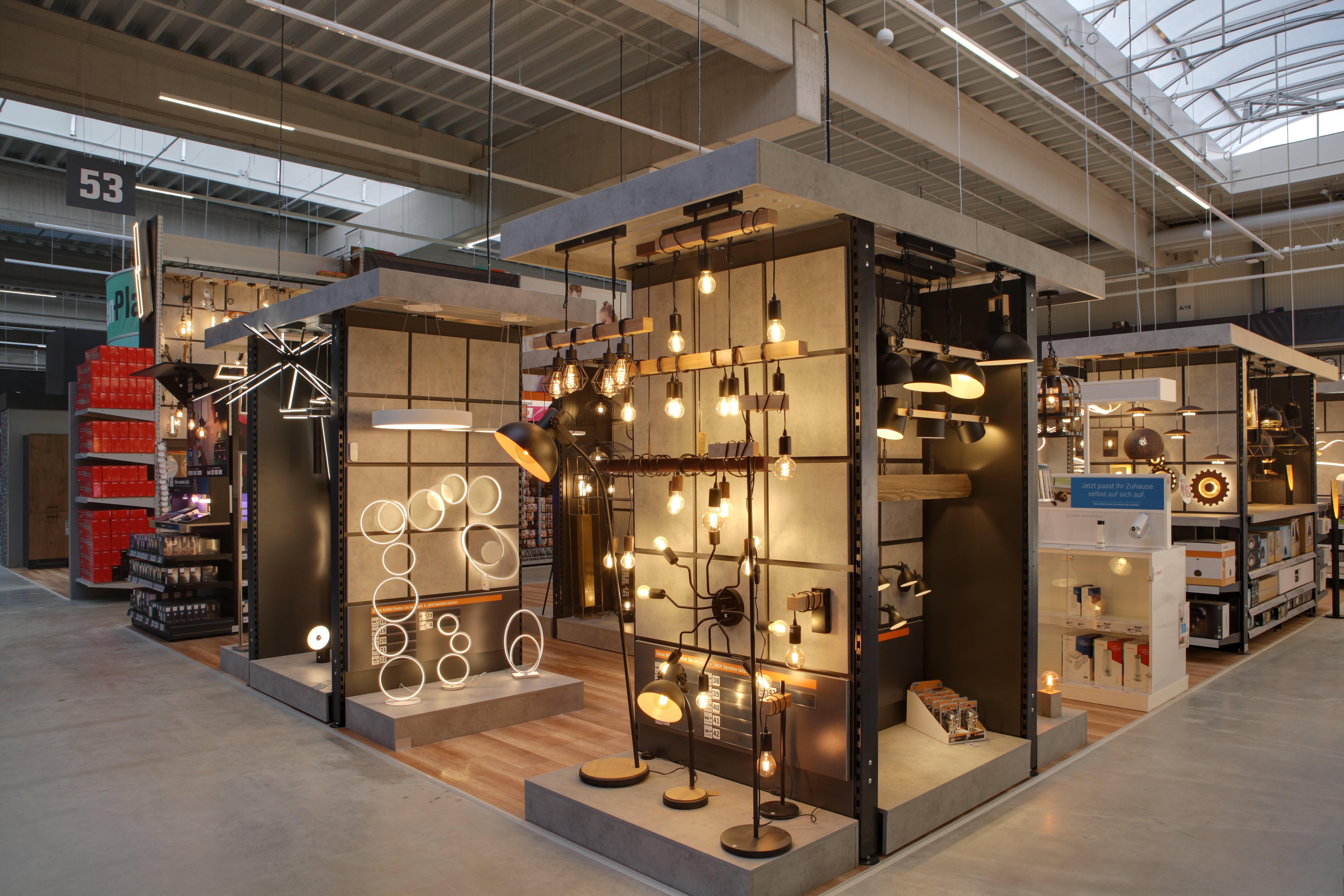 OBI Lampen und Leuchtenstudio Göttingen