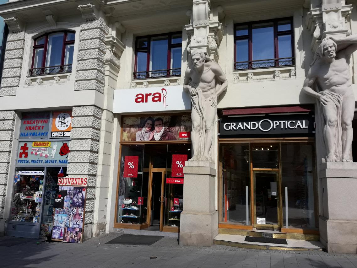 GrandOptical - oční optika Brno, Náměstí svobody