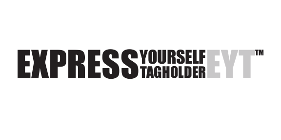 Express Yourself Tagholder - ad image