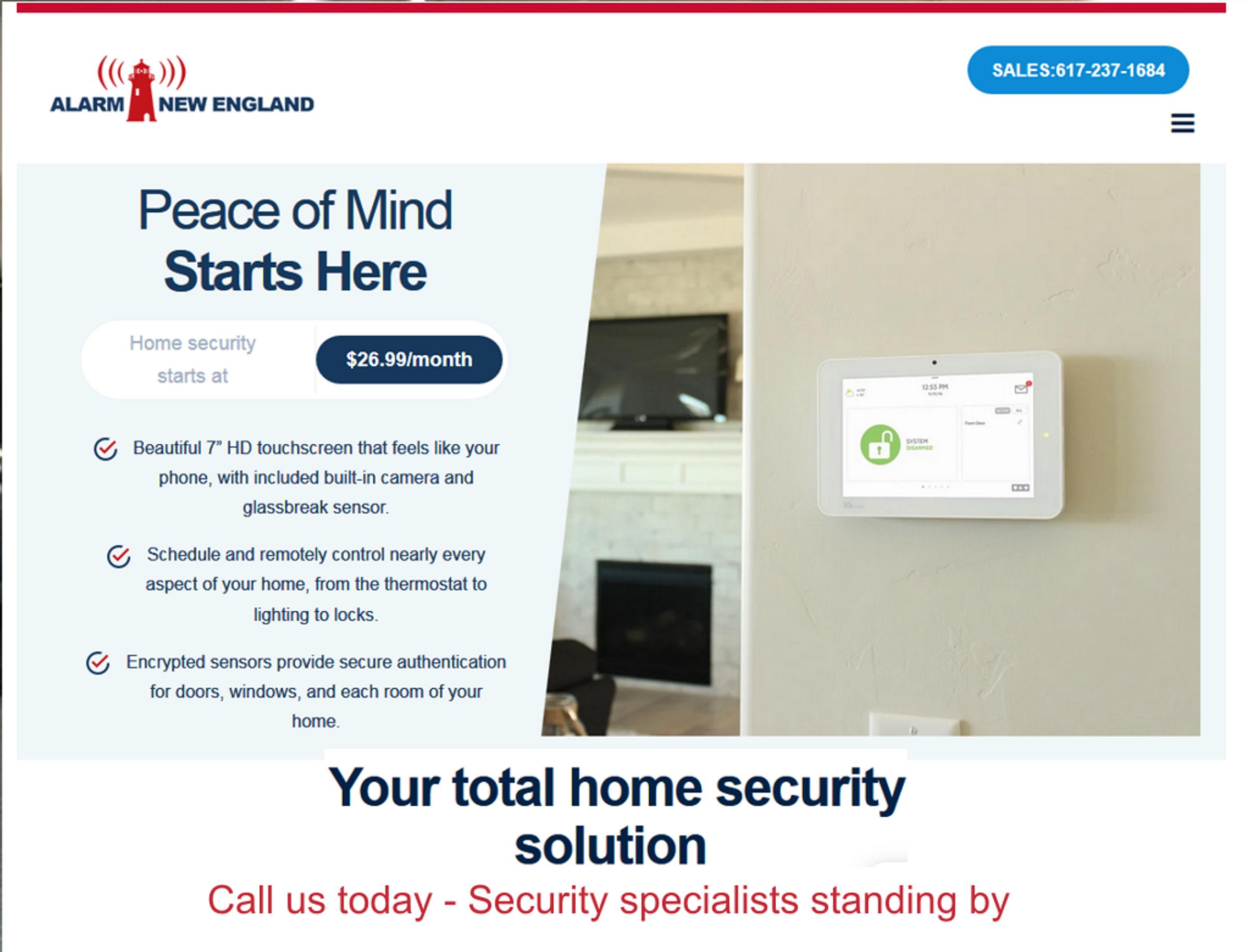 Home security solutions  in North shore / Newburyport ma