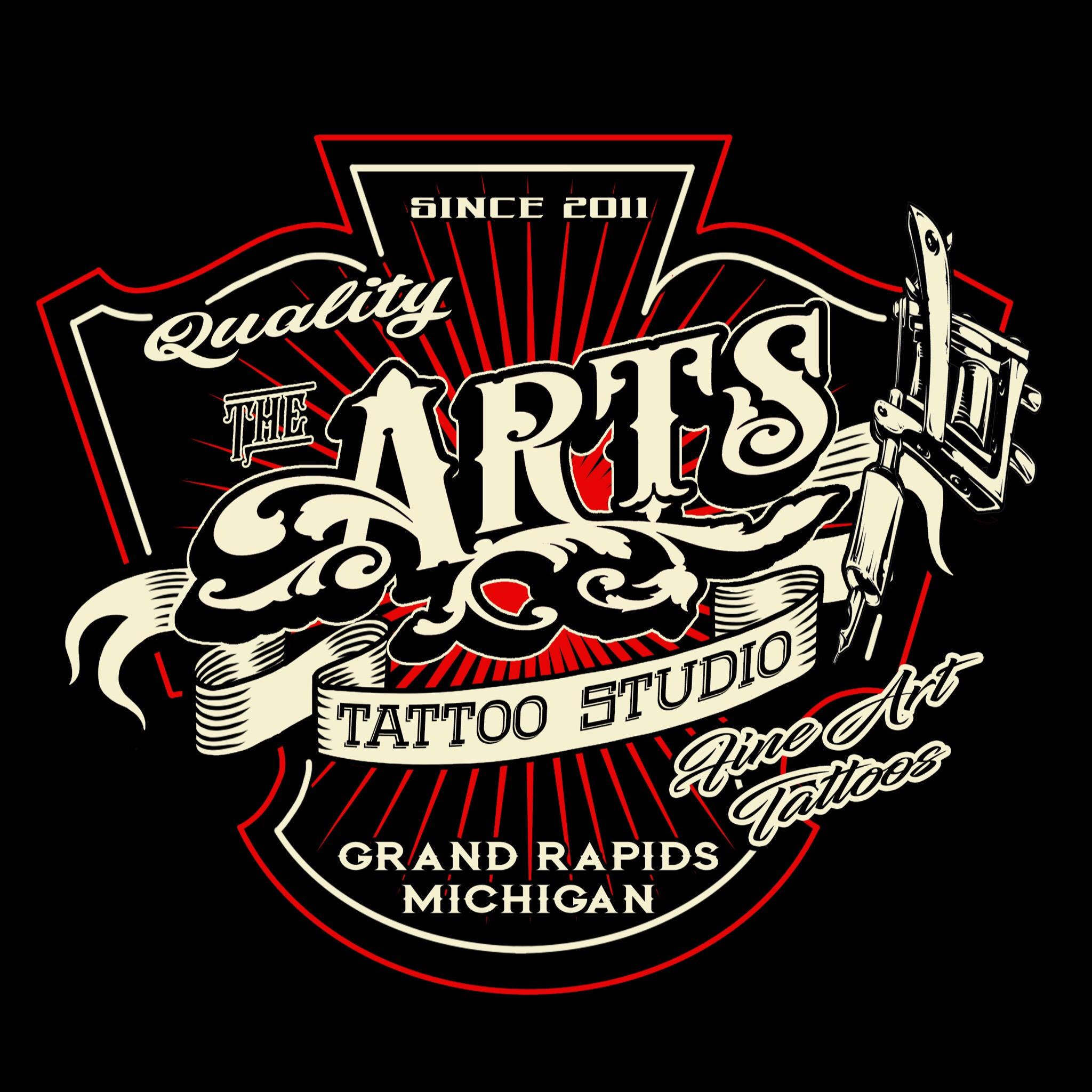 The arts tattoo studio in grand rapids mi tattooing for Grand rapids mi tattoo
