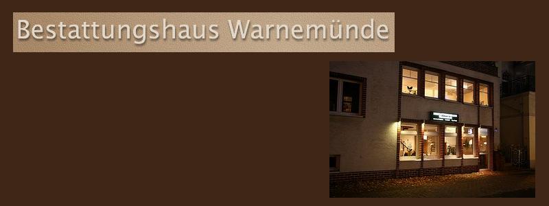 Bestattungshaus Warnemünde - Inh. Fr. Neumann Rostock
