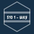 $10 1 - WAY