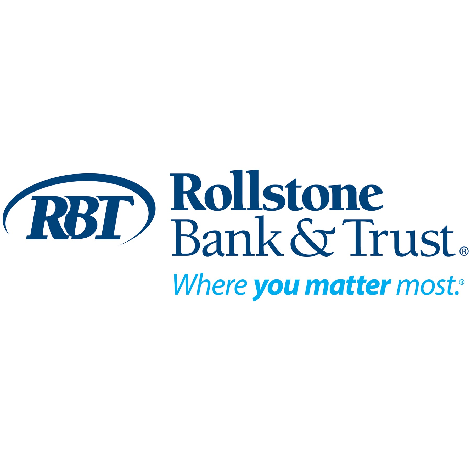 Rollstone Bank and Trust Logo