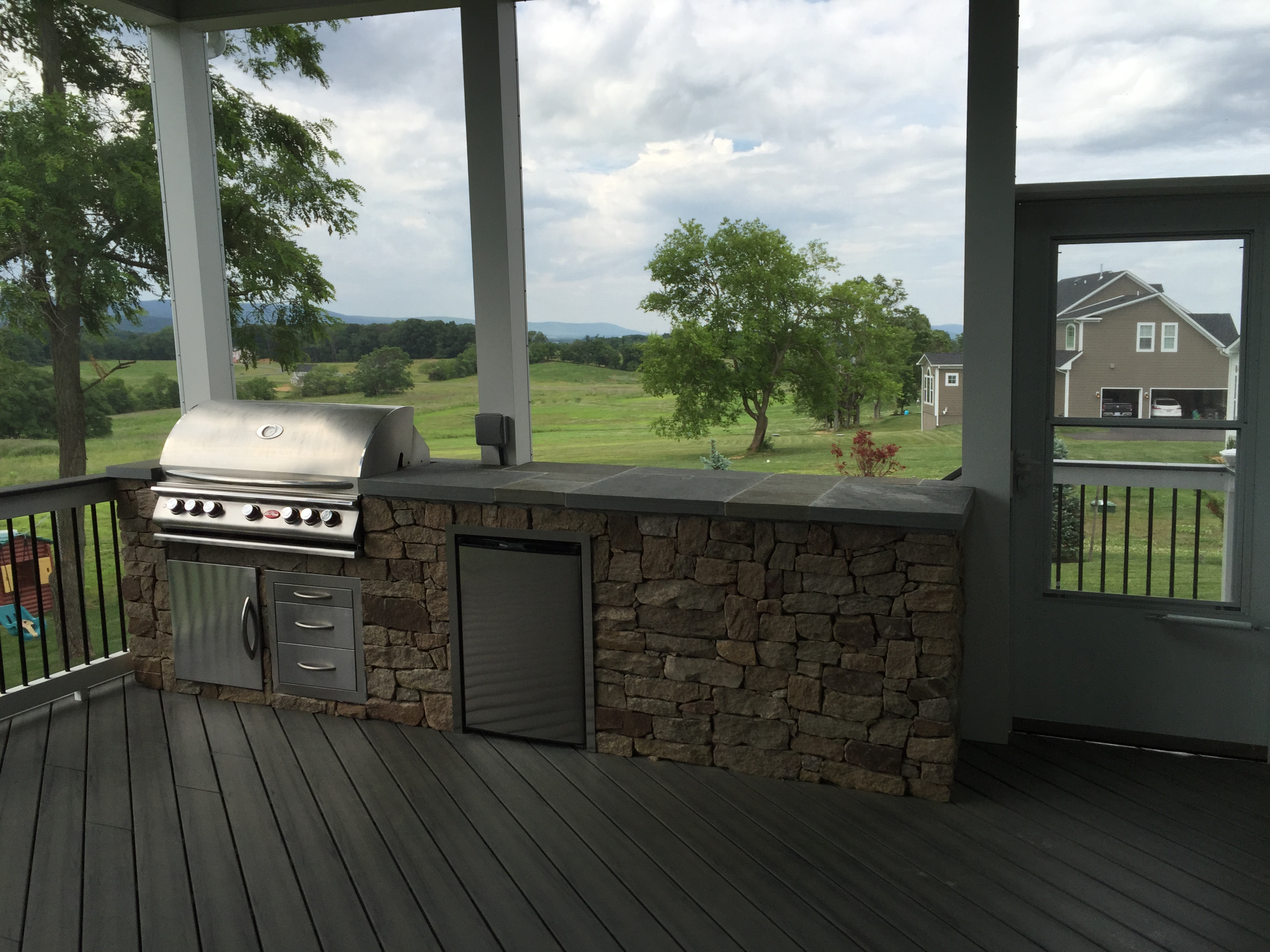 American exteriors masonry coupons near me in leesburg for Outdoor kitchen builders near me