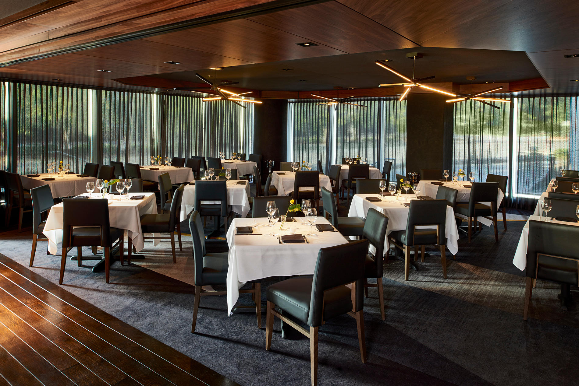 Del Frisco's Double Eagle Steakhouse Dunwoody Oak Room private dining room