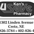 Ken's Pharmacy - Crete, NE 68333 - (402)826-3784 | ShowMeLocal.com