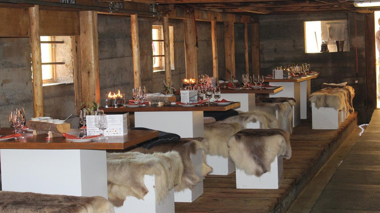Raclettehütte Engstligenalp Adelboden
