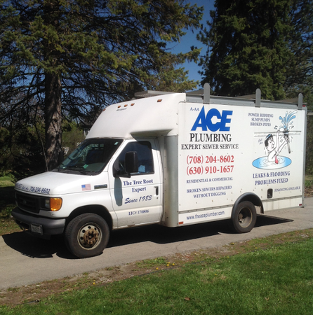 Ace plumbing sewer in downers grove il 60516 for Forest grove plumbing