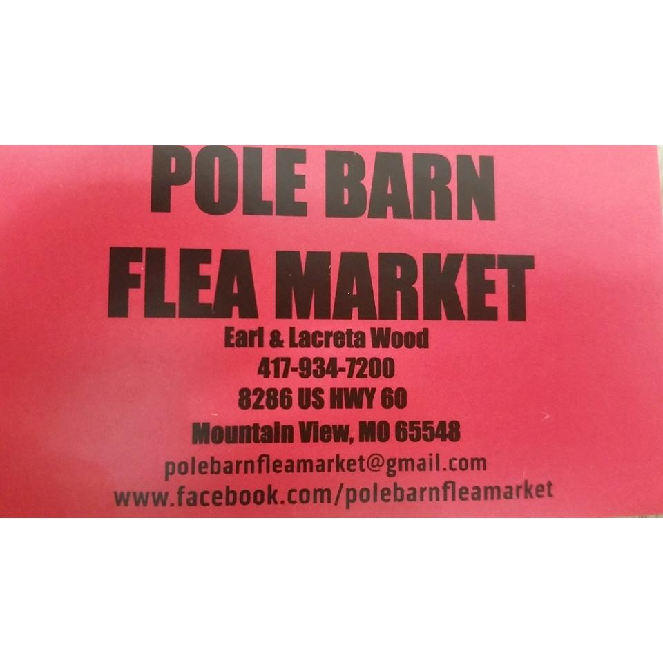 Pole Barn Flea Market