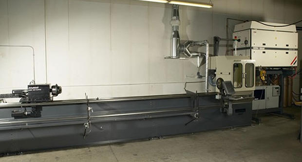 Laser Tube Saw Colby Metal Inc. Colby (715)223-2334