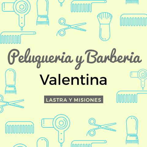 PELUQUERIA Y BARBERIA VALENTINA