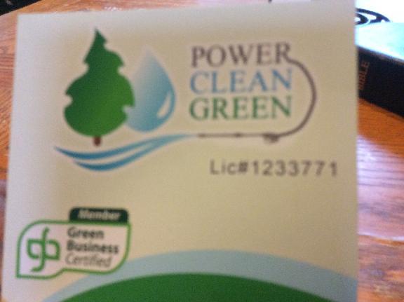 Power Clean Green
