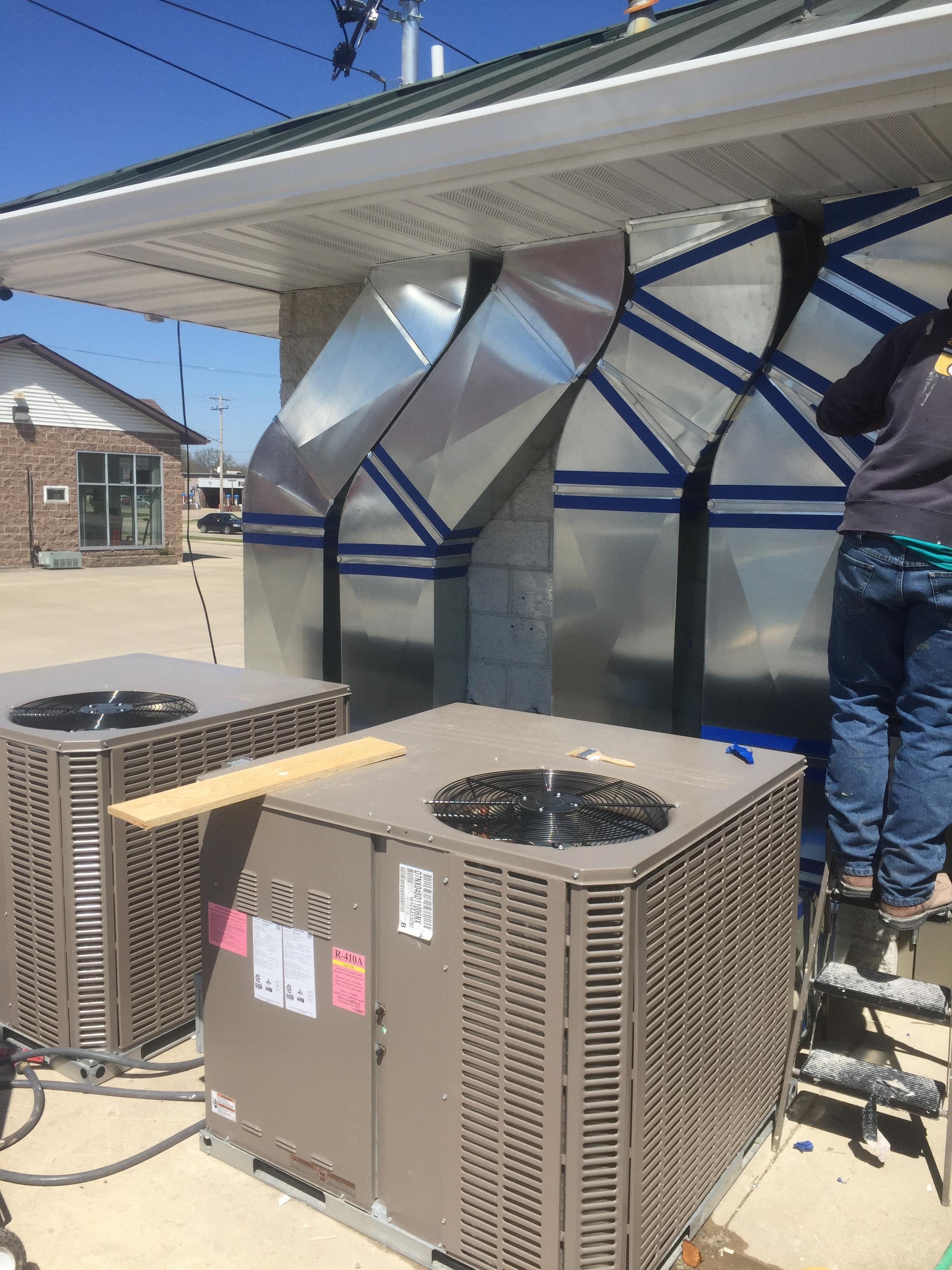 Construction Air Conditioner : Harms construction heating air chamberofcommerce
