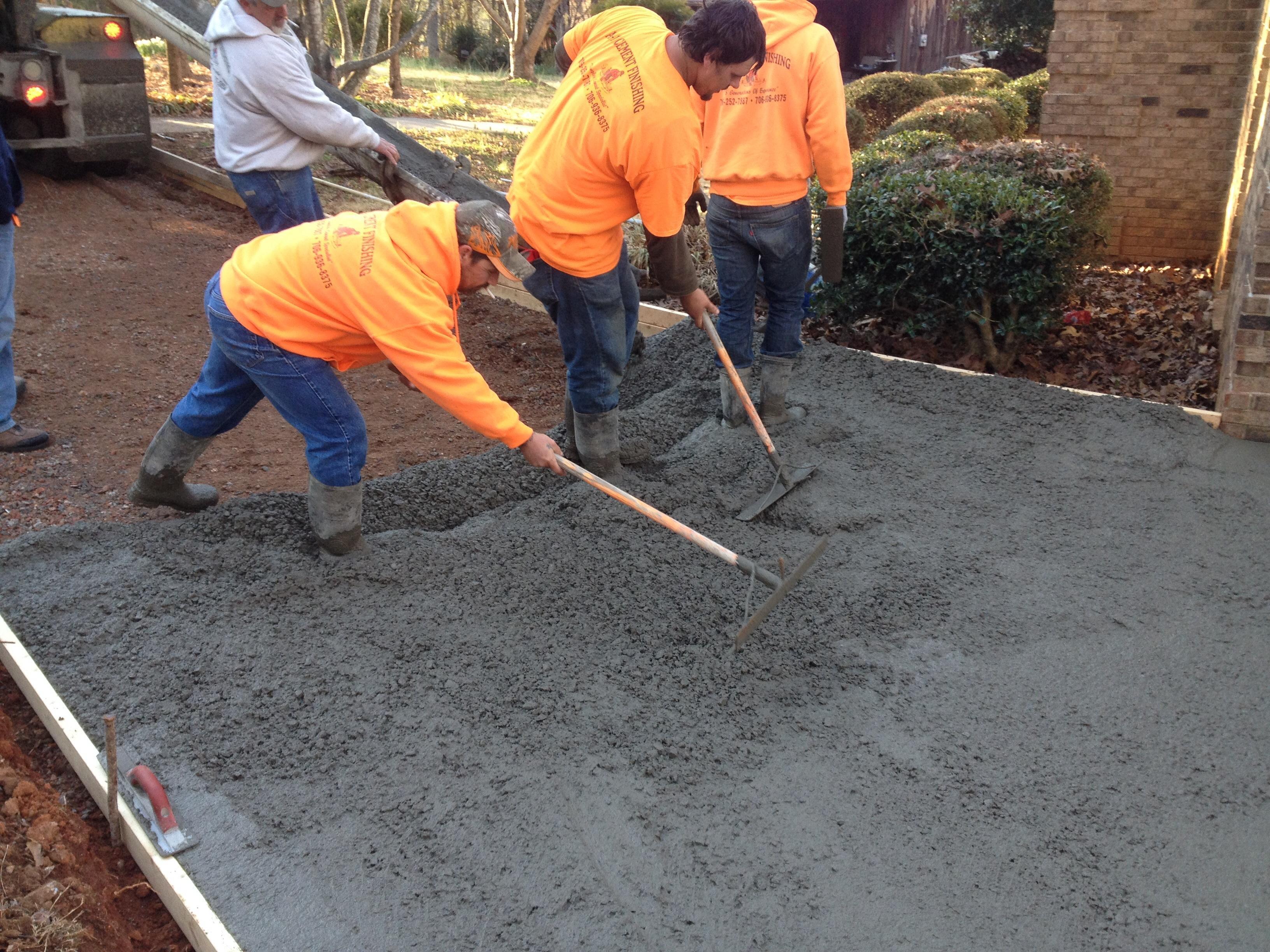 A1 Cement Finishings & Bobcat Work