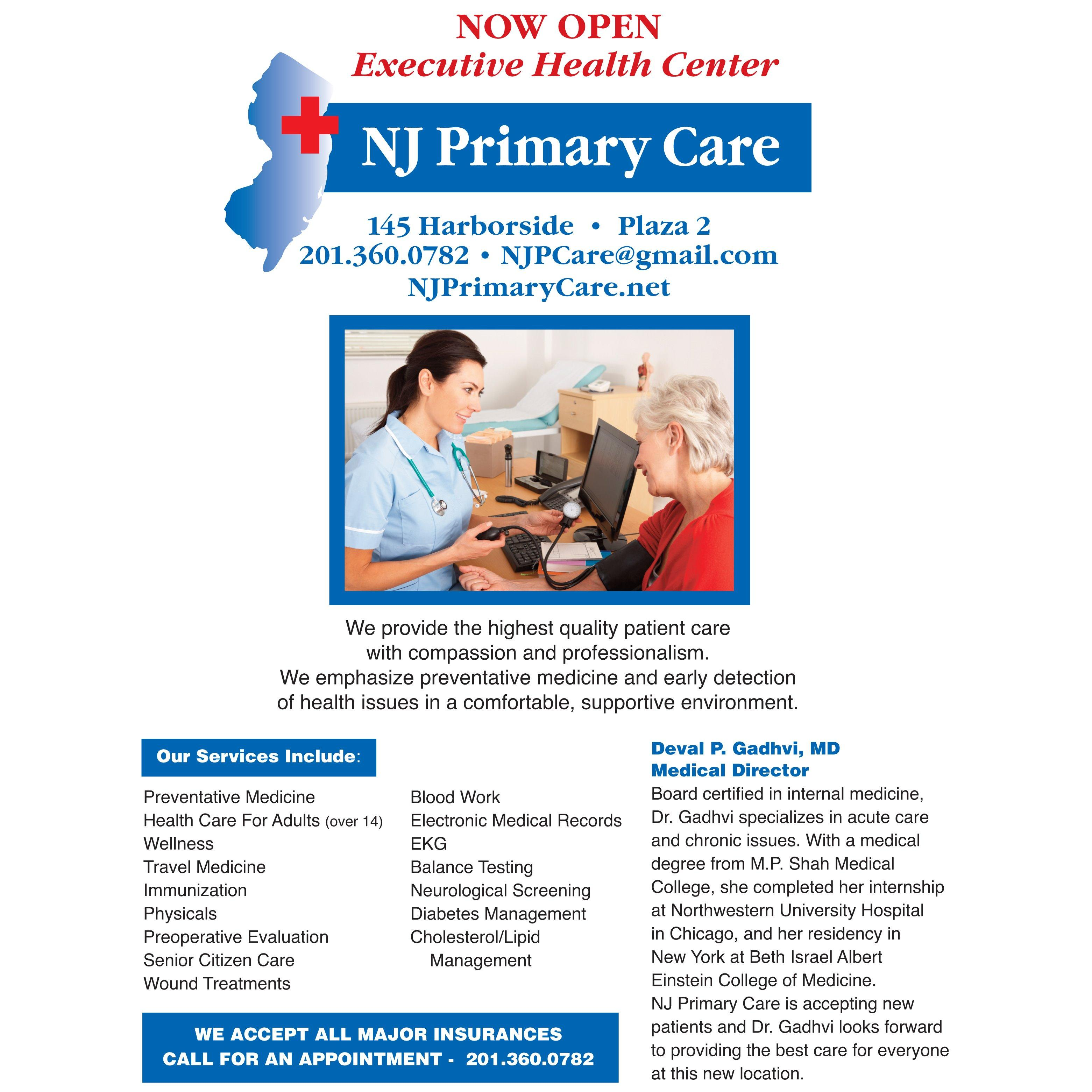 NJ  Primary Care - Jersey city, NJ - General or Family Practice Physicians