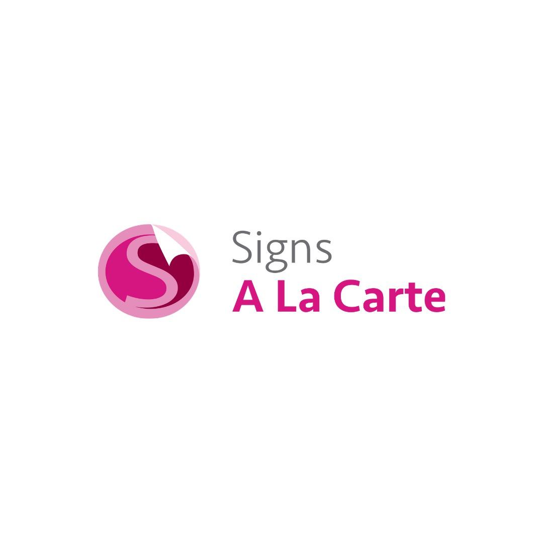 Signs A La Carte